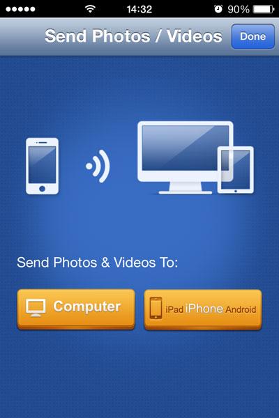 send iphone photos to mac computer